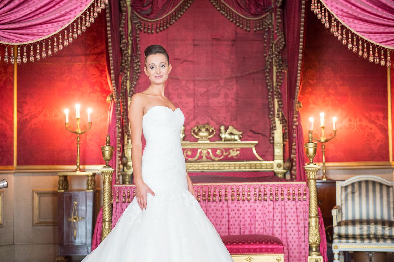 Traumhochzeit Braut im Schloss wie im Märchen in Deutschland